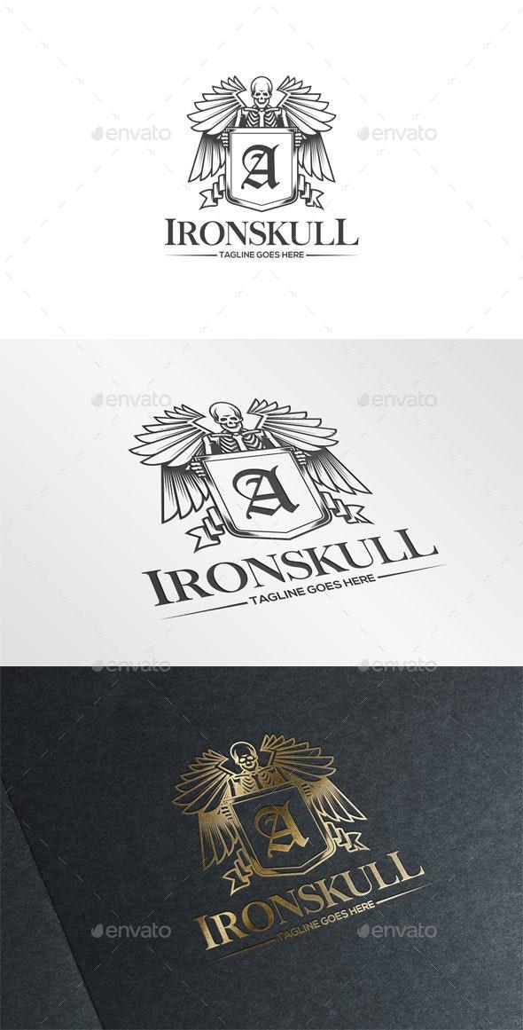 Iron Skull Logo - Humans Logo Templates