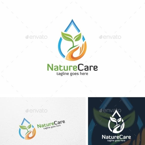 Nature Care - Logo Template