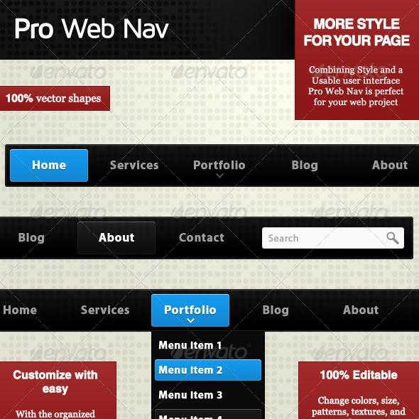 Pro Web Nav