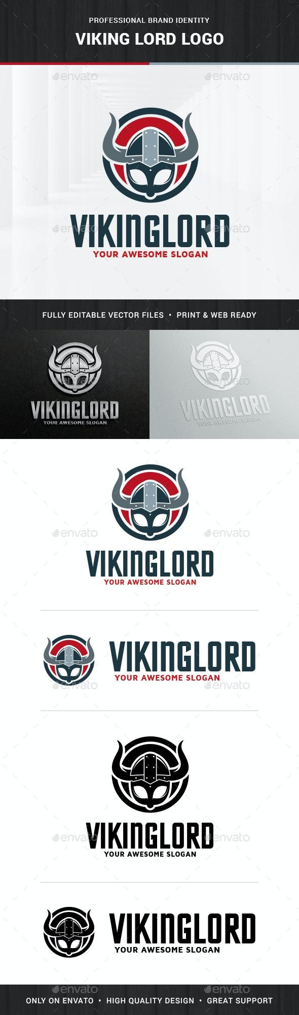 Viking Lord Logo Template - Humans Logo Templates