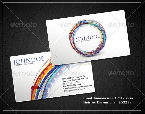 Business Card Set - Creative Business Cards