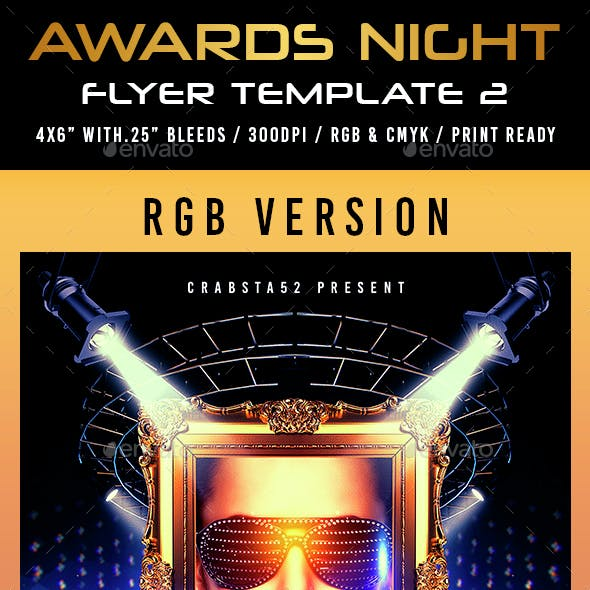 Awards Night Flyer Template