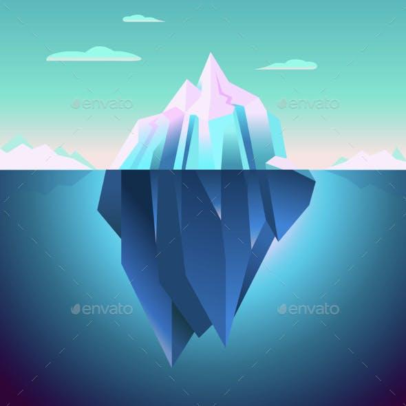 Quarz Iceberg Backdrop