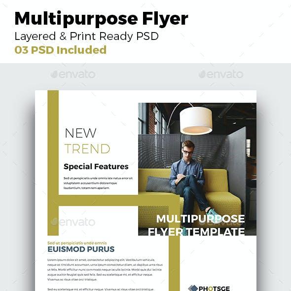 Multipurpose  Flyer