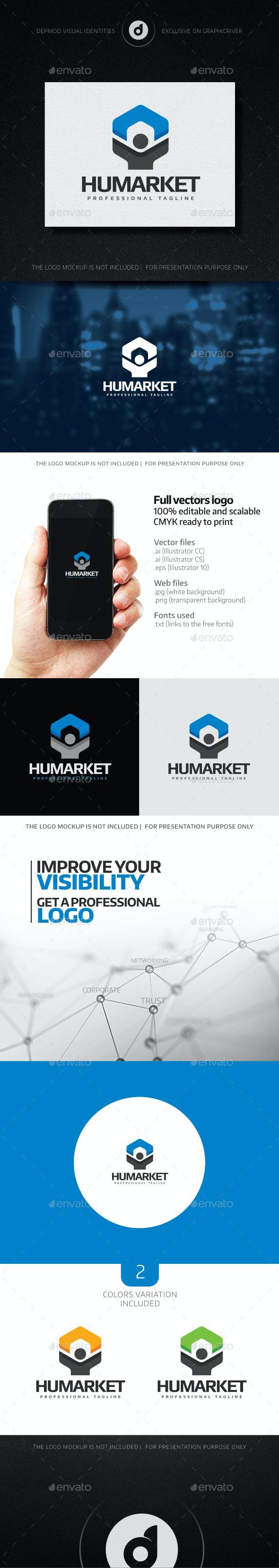 Humarket - Humans Logo Templates