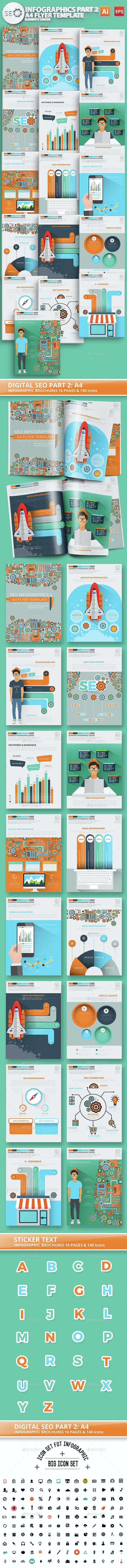 Digital SEO Infographic Design 2 - Infographics