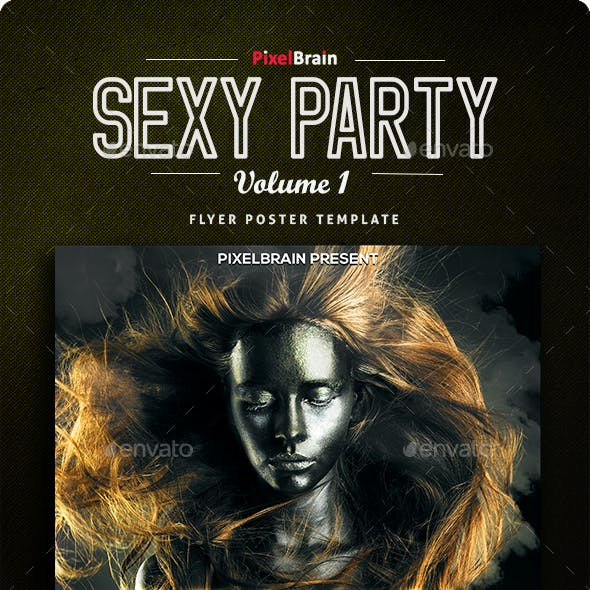 Sexy Party Flyer/Poster Vol. 1