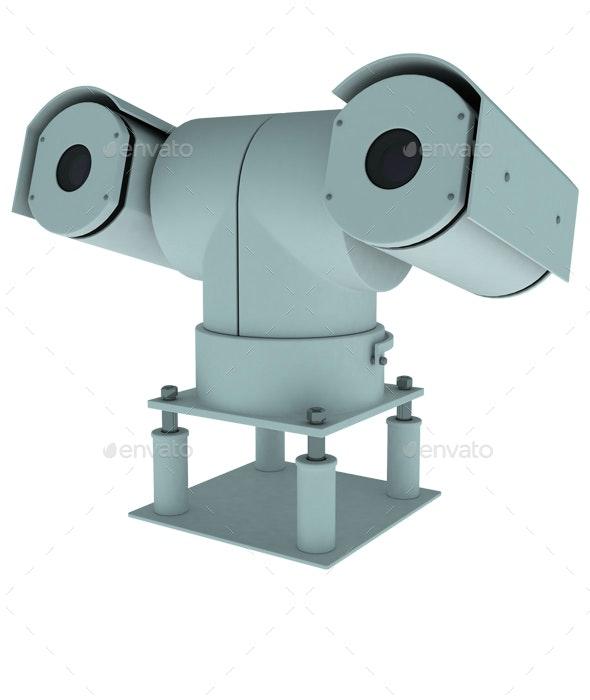 Security Camera - 3D Renders Graphics