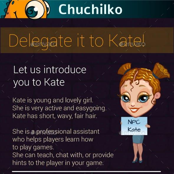 In-Game Helper Kate
