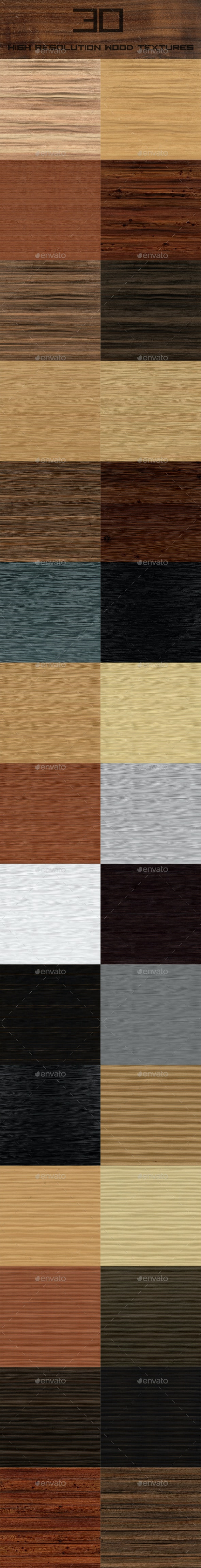 Wood Texture Pack - Wood Textures