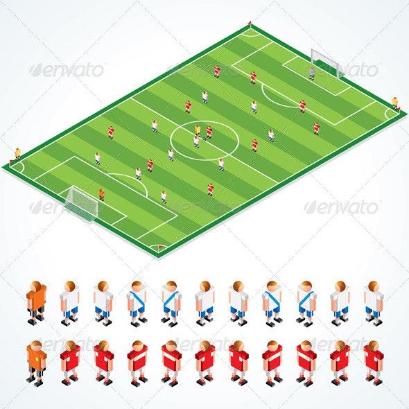 Soccer Tactical Kit - Sports/Activity Conceptual