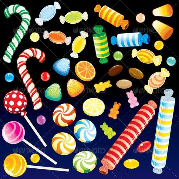 Sweet Rain - Food Objects