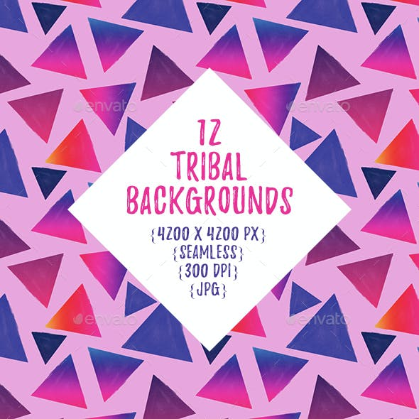Colorful Tribal Backgrounds