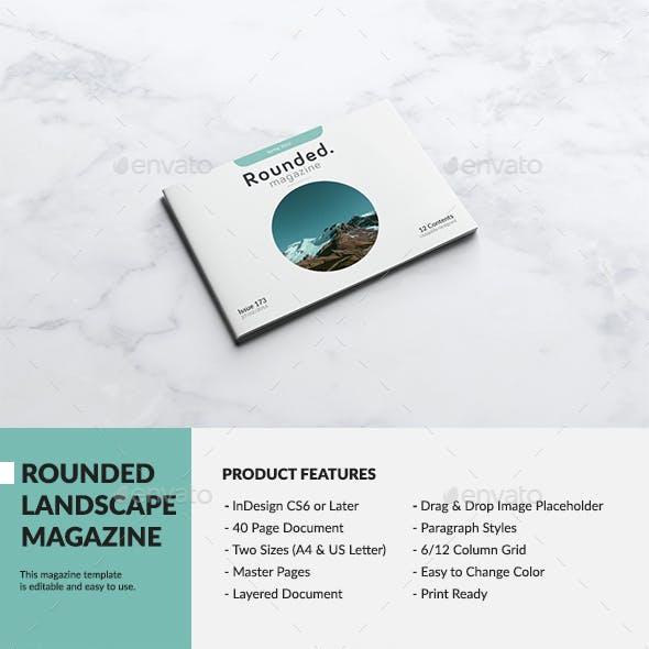 Rounded Landscape Magazine