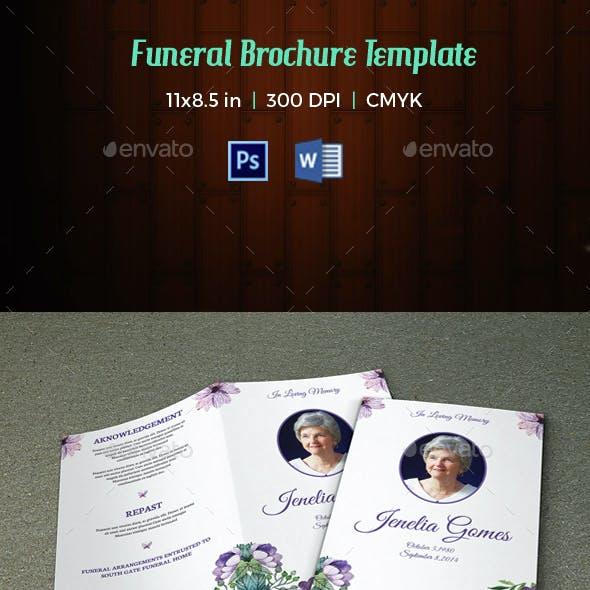 Funeral Program Template-V36