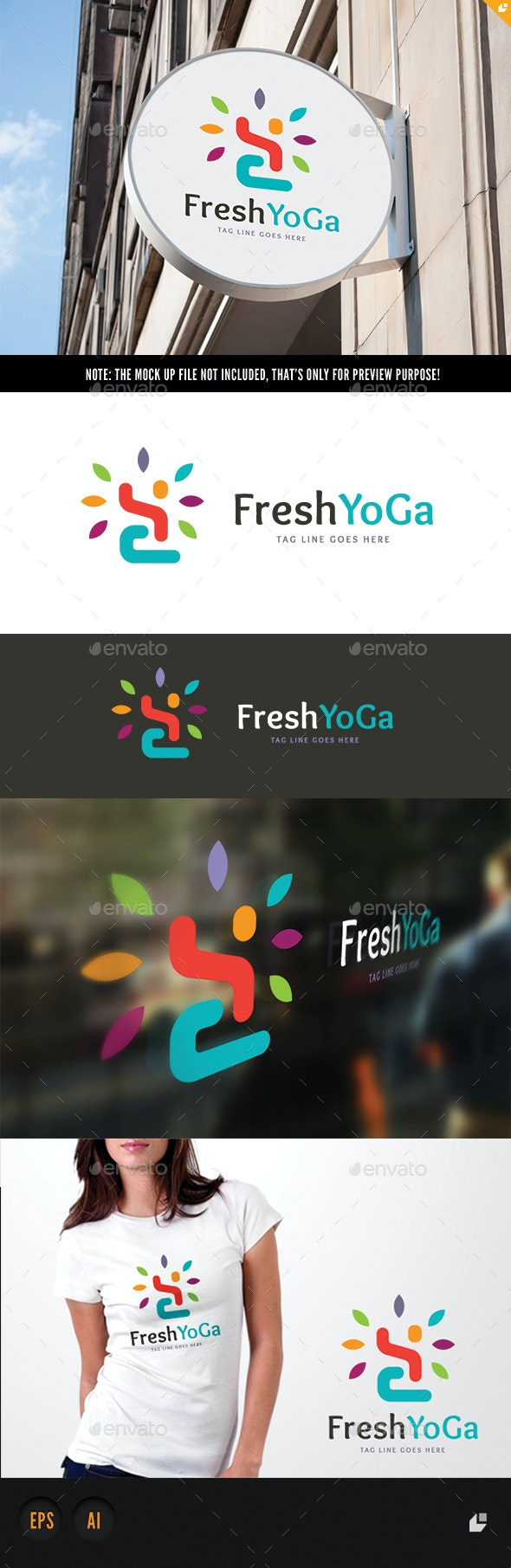 Yoga Logo - Humans Logo Templates