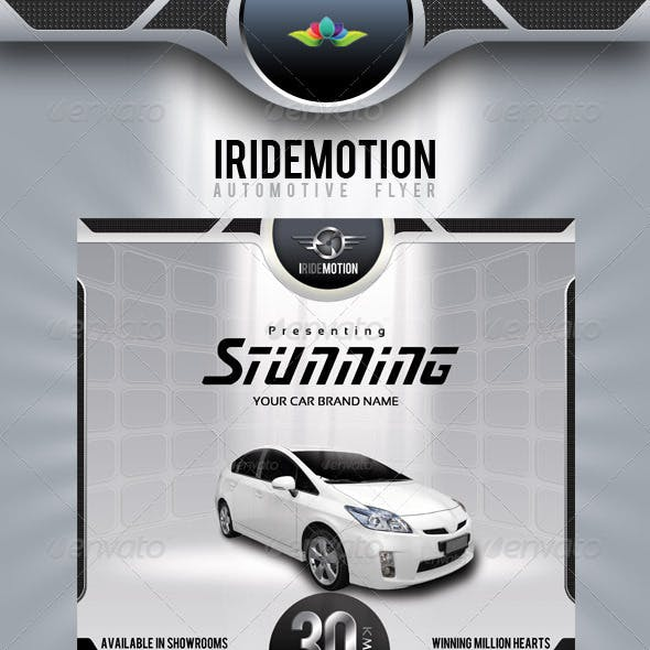 Iridemotion Automotive Flyer