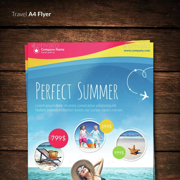 Travel / Vacation Flyer