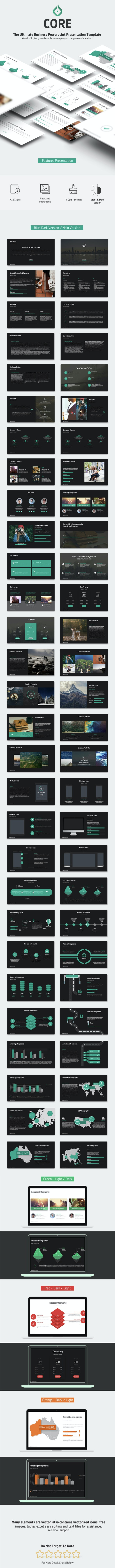Core - Business Powerpoint Template - Business PowerPoint Templates