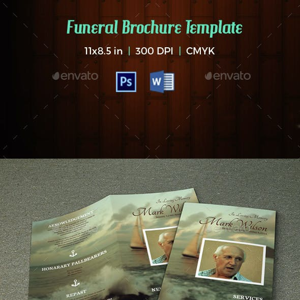 Funeral Program Template-V37