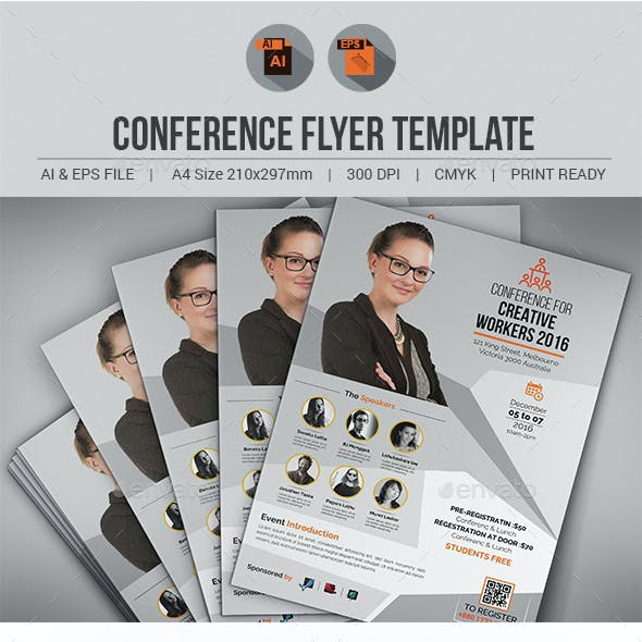 Conference / Event Flyer Template