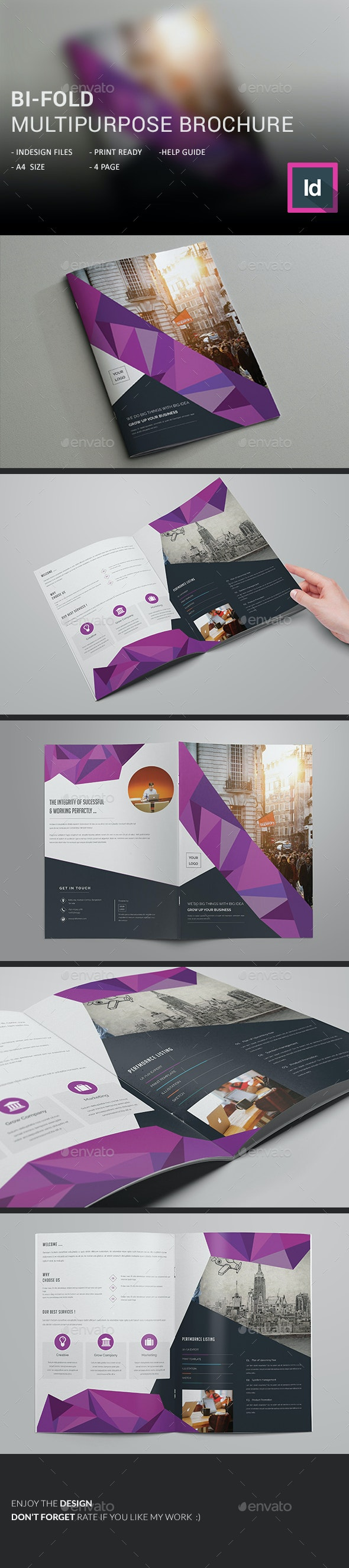 Bi-Fold Multipurpose Brochure - Corporate Brochures