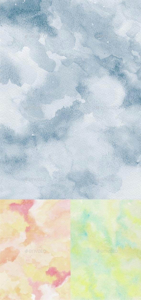 3 watercolor textures - Art Textures