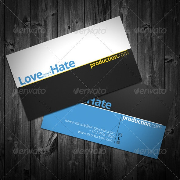 Invasion Business Card - Corporate Business Cards