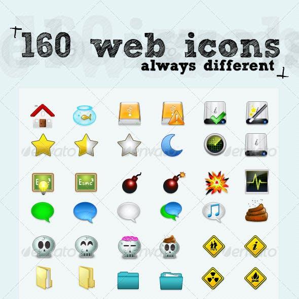 160 Cool Web Icons