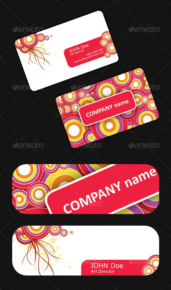 Business Card - Personal card - Creative Business Cards