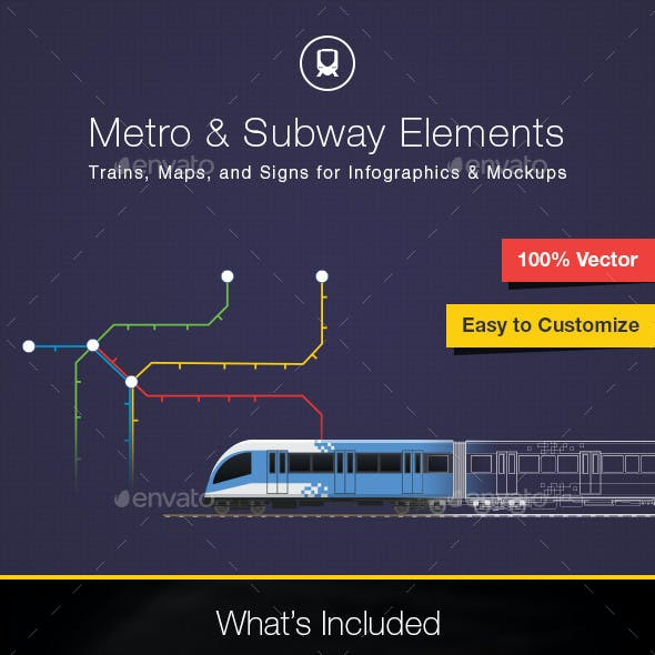 Subway Map Graphic Design.Subway Map Graphics Designs Template From Graphicriver