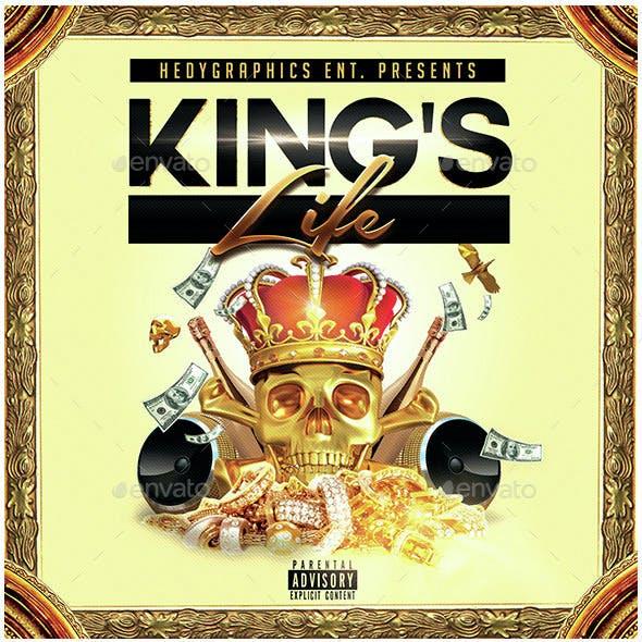King's Life - Cd Cover Artwork