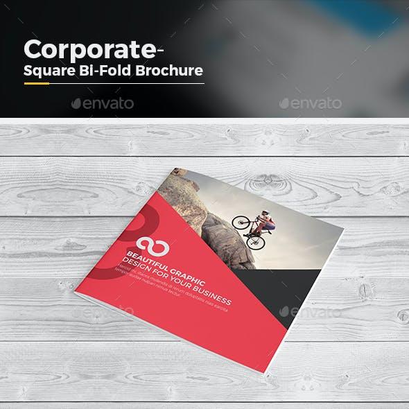 Bi Fold Brochure-Square