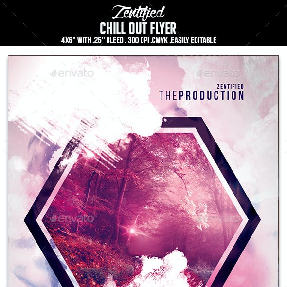 Chill Out Party Flyer