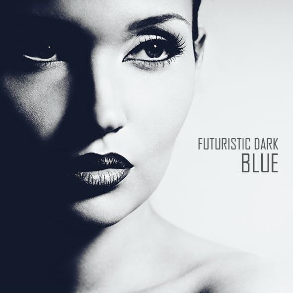 Futuristic Dark Blue Color Movie Effect