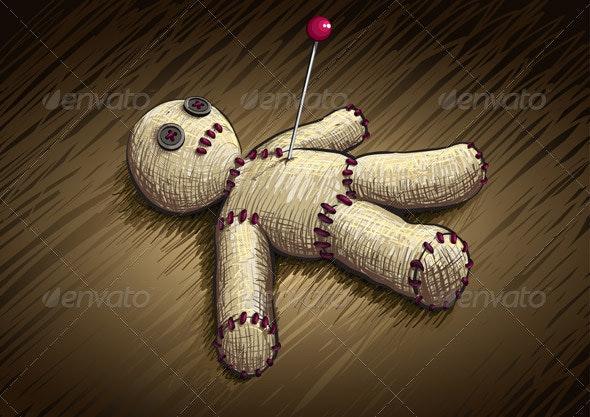 Voodoo Doll - Miscellaneous Vectors