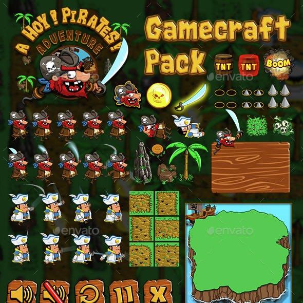 Ahoy! Pirates Adventure - Game Assets