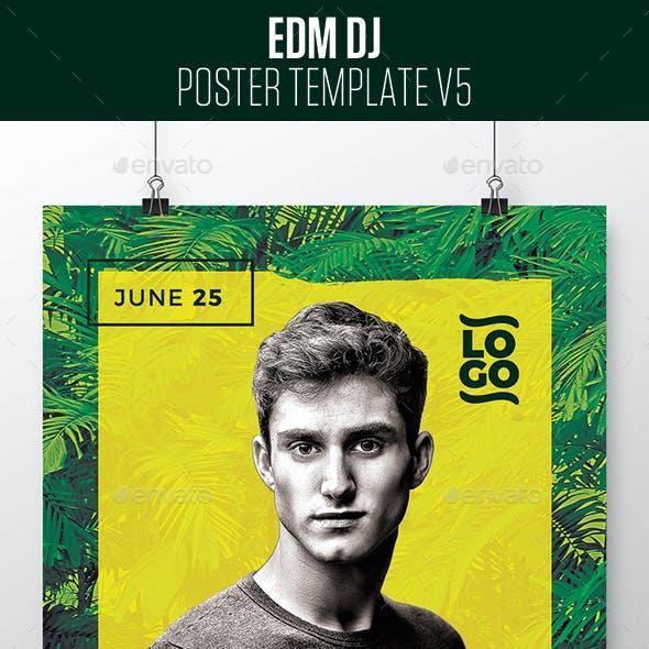 EDM Dj Posters v5