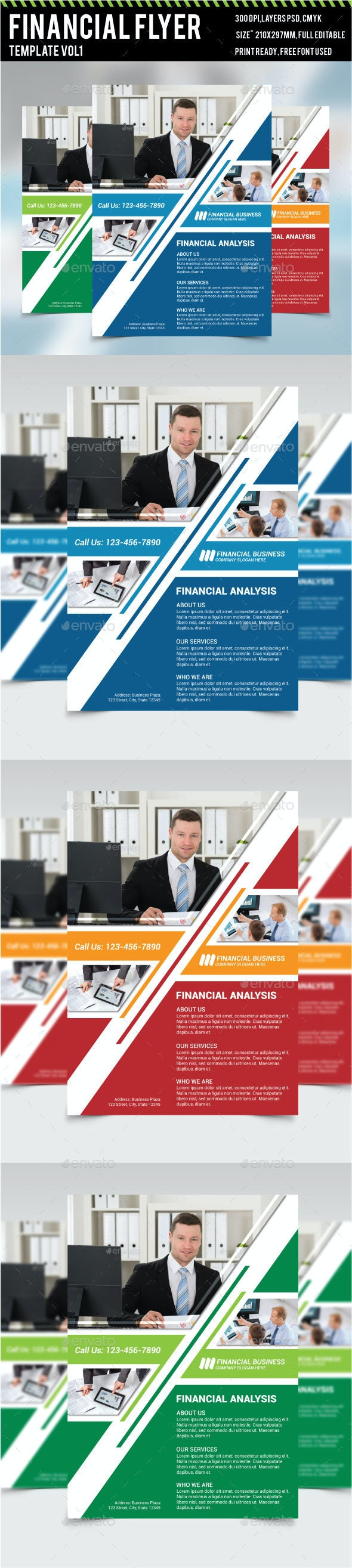 Financial Analysis Flyer Vol 1 - Corporate Flyers