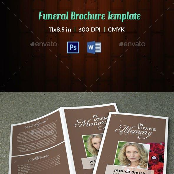 Funeral Program Template-V39