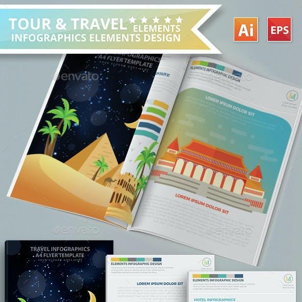 Tour & Travel Infographics Design