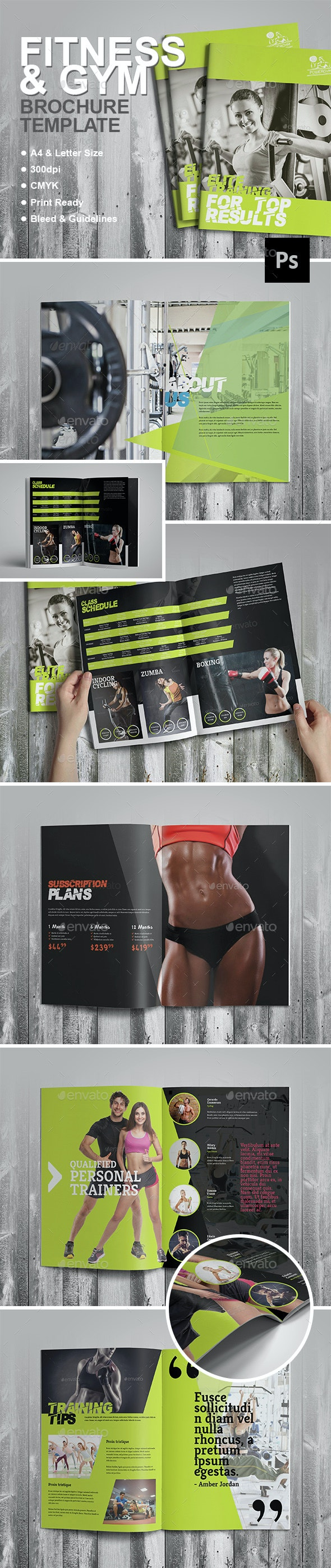 Fitness Brochure - Corporate Brochures