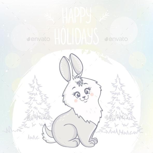 Bunny Character - Animals Characters