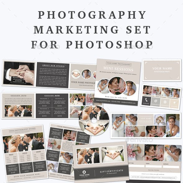 Photography Marketing Set