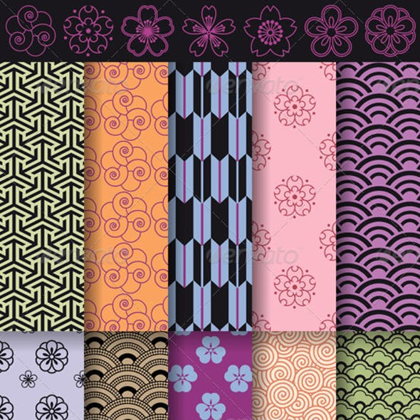 Seamless Asian Patterns
