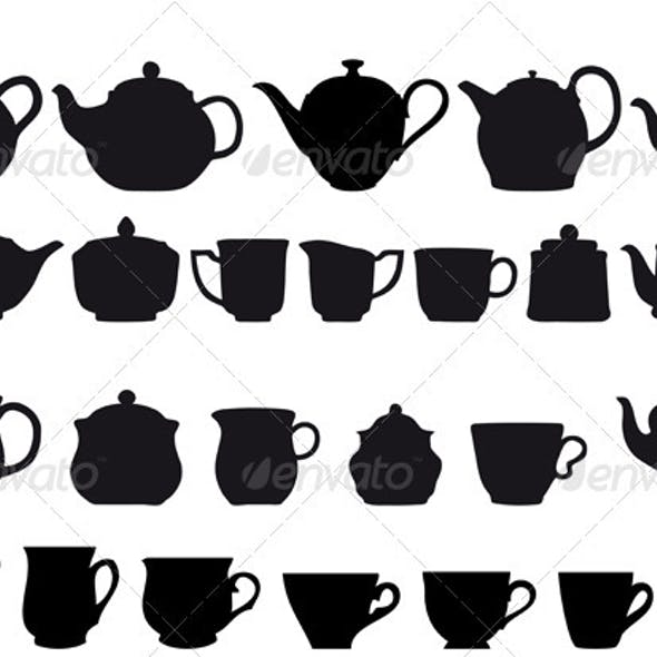Coffe And Tea Set