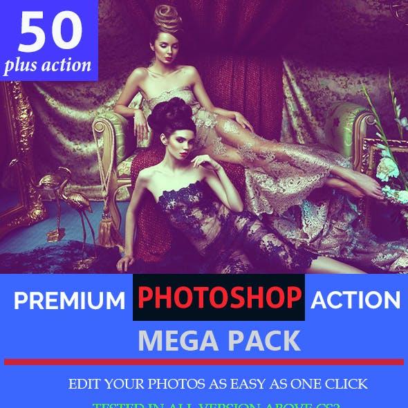 50 Plus Photoshop Actions