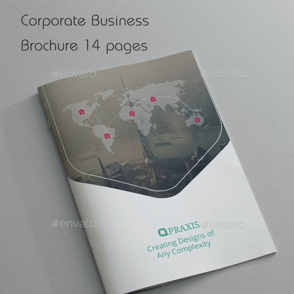 Corporate Business Brochure 14 Pages