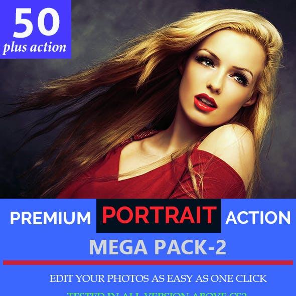 Portrait Mega Action Set-2
