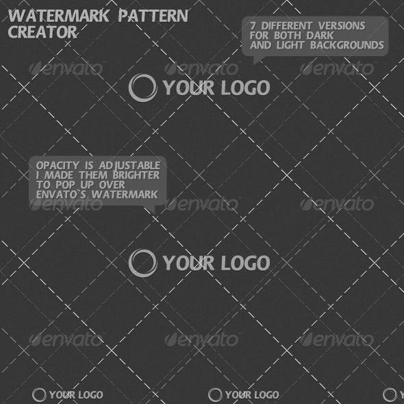 Watermark Pattern Creator
